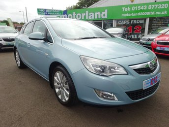 2010 VAUXHALL ASTRA 1.6 SE 5d 113 BHP £SOLD