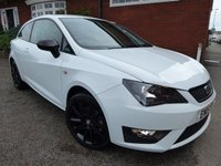 2015 SEAT IBIZA 1.4 TSI ACT FR BLACK 3d 140 BHP Leather & Alcantara Interior £10000.00