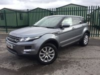 2014 LAND ROVER RANGE ROVER EVOQUE 2.2 ED4 PURE TECH 5d 150 BHP PAN ROOF SAT NAV LEATHER ONE OWNER FSH £17990.00