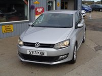 USED 2013 13 VOLKSWAGEN POLO 1.2 MATCH FSH
