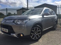 2015 MITSUBISHI OUTLANDER 2.3 DI-D GX 4 5d 147 BHP 7 SEATER SAT NAV LEATHER SUNROOF PRIVACY ONE OWNER £12990.00