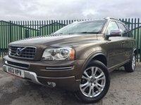 2013 VOLVO XC90 2.4 D5 SE LUX AWD 5d AUTO 200 BHP 7 SEATER SAT NAV LEATHER SUNROOF FSH £17490.00