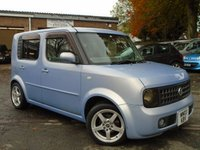 USED 2003 03 NISSAN CUBE 1.4 1.4 5d AUTO RECENT CAMBELT+MOT OCTOBER 2019
