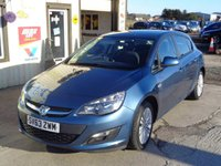 USED 2013 63 VAUXHALL ASTRA 1.6 ENERGY FVSH 1 Owner From New