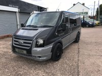 USED 2010 60 FORD TRANSIT CAMPER VAN CONVERSION 2.2 260 LR 1d 85 BHP CAMPER VAN CONVERSION-2 BERTH-12V&240V-REVERSE CAMERA-BLUETOOTH
