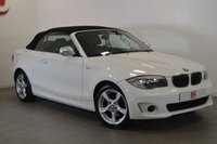 USED 2013 63 BMW 1 SERIES 2.0 118D EXCLUSIVE EDITION CONVERTIBLE 141 BHP BLACK LEATHER + LOW MILES + 2 KEYS + FINANCE AVAILABLE