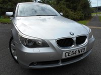 2004 BMW 5 SERIES 3.0 530I SE 4d AUTO 228 BHP ** 1 PREVIOUS OWNER , FULL LEATHER,, YES ONLY 75K , SUPERB VEHICLE ** £3495.00