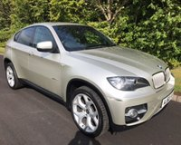 USED 2010 60 BMW X6 3.0 XDRIVE40D DYNAMIC 4x4 4dr AUTO 302 BHP HUGE SPECIFICATION