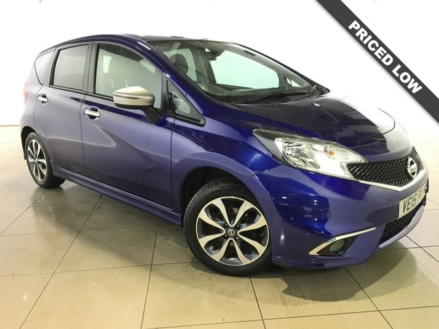 View our 2015 15 NISSAN NOTE 1.2 N-TEC 5d 80 BHP
