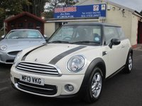 2013 MINI HATCH COOPER 1.6 COOPER 3d 122 BHP £7500.00