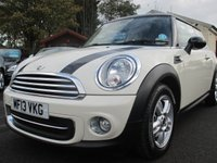 USED 2013 13 MINI HATCH COOPER 1.6 COOPER 3d 122 BHP ACTIVE STABILITY CONTROL + TRACTION CONTROL