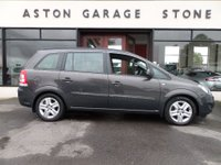 USED 2014 64 VAUXHALL ZAFIRA 1.8 EXCLUSIV 5d 120 BHP **1 OWNER * F/D/S/H** ** FULL VAUXHALL SERVICE HISTORY * 1 OWNER **