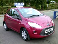 USED 2009 59 FORD KA 1.2 STUDIO 3d 69 BHP CADE CARS LTD. Established for over 25 years.