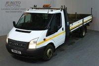 USED 2014 14 FORD TRANSIT 2.2 350 124 BHP S/CAB EXTRA LWB RWD TWIN WHEEL DROPSIDE LORRY TWIN WHEELER 13.3 FOOT BED