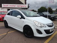2011 VAUXHALL CORSA 1.2 Limited Edition 3 door £4499.00