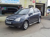 USED 2009 59 OPEL ANTARA 2.0 1d  NO VAT Back seats have been fitted