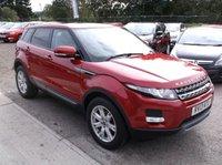 2013 LAND ROVER RANGE ROVER EVOQUE 2.2 SD4 PURE TECH 5d AUTO 190 BHP £21500.00