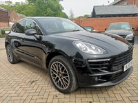 USED 2015 65 PORSCHE MACAN 3.0 D S PDK 5d AUTO 258 BHP FPSH+PDK GEARBOX+RED LEATHER