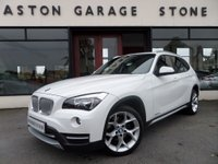USED 2013 63 BMW X1 2.0 XDRIVE18D XLINE 5d AUTO 141 BHP **NAV * F/D/S/H** ** F/BMW/S/H * NAV * HEATED LEATHER **
