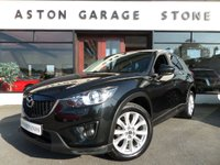 2012 MAZDA CX-5 2.2 D SPORT NAV 5d AUTO 173 BHP **BOSE * LEATHER** £11990.00