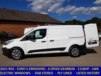 2015 FORD TRANSIT CONNECT 210 L2 LWB 115BHP WITH LISTED SERVICE HISTORY £6995.00