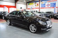 2013 MERCEDES-BENZ C CLASS 1.6 C180 BLUEEFFICIENCY AMG SPORT 4d 154 BHP £11285.00