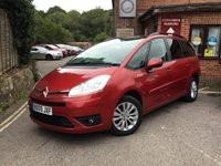 2009 CITROEN C4 GRAND PICASSO 1.6 VTR PLUS HDI 5d 107 BHP