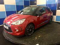 2013 CITROEN DS3 1.6 DSTYLE PLUS 3d 120 BHP £6175.00