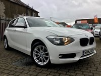 USED 2013 63 BMW 1 SERIES 2.0 116D SE 5d 114 BHP PRICE INCLUDES A 6 MONTH RAC WARRANTY, 1 YEARS MOT WITH 12 MONTHS FREE BREAKDOWN COVER