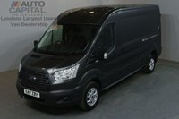 USED 2017 17 FORD TRANSIT 2.0 350 L2 H2 P/V 5d 129 BHP LWB M/ROOF EURO 6 AIR CON PANEL VAN AIR CONDITIONING EURO 6 ENGINE