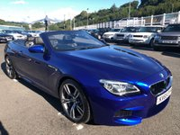 USED 2015 65 BMW 6 SERIES 4.4 M6 2d AUTO 553 BHP San Marino Blue, Black Merino extended leather, HUD, Surround cameras ++