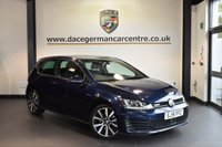 USED 2015 15 VOLKSWAGEN GOLF 2.0 GTD DSG 3DR AUTO 182 BHP full vw service history FULL SPORT UPHOLSTERY + FULL VW SERVICE HISTROY + BLUETOOTH + CRUISE CONTROL + PARKING SENSORS + PADDLE SHIFTERS + HEATED MIRRORS + DAB RADIO + 18 INCH ALLOY WHEELS +