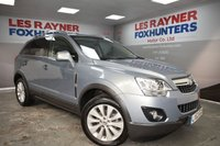 USED 2013 63 VAUXHALL ANTARA 2.2 DIAMOND CDTI S/S 5d 161 BHP Park sensors, Full Leather, Cruise control, Privacy Glass