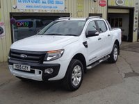 USED 2015 15 FORD RANGER 3.2 WILDTRAK 4X4 DCB TDCI 1 OWNER FROM NEW FULL FORD SERVICE HISTORY