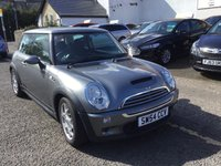 USED 2004 54 MINI HATCH COOPER 1.6 COOPER S 3d 168 BHP OUR  PRICE INCLUDES A 6 MONTH AA WARRANTY DEALER CARE EXTENDED GUARANTEE, 1 YEARS MOT AND A OIL & FILTERS SERVICE. 6 MONTHS FREE BREAKDOWN COVER.    CALL US NOW FOR MORE INFORMATION OR TO BOOK A TEST DRIVE ON 01315387070 !! !! LIKE AND SHARE OUR FACEBOOK PAGE !!