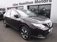 USED 2017 66 NISSAN QASHQAI 1.5 N-VISION DCI 5d 108 BHP 1/2 Leather & Glass Roof
