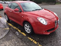 USED 2012 62 ALFA ROMEO MITO 1.4 8V SPRINT 3d 78 BHP OUR  PRICE INCLUDES A 6 MONTH AA WARRANTY DEALER CARE EXTENDED GUARANTEE, 1 YEARS MOT AND A OIL & FILTERS SERVICE. 6 MONTHS FREE BREAKDOWN COVER.    CALL US NOW FOR MORE INFORMATION OR TO BOOK A TEST DRIVE ON 01315387070 !! !! LIKE AND SHARE OUR FACEBOOK PAGE !!