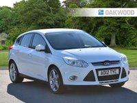 2012 FORD FOCUS 1.0 TITANIUM X 5d 124 BHP turbo £7495.00