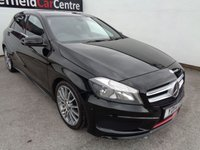 USED 2014 14 MERCEDES-BENZ A CLASS 1.8 A200 CDI BLUEEFFICIENCY AMG SPORT 5d AUTO 136 BHP 6 SERVICES 5 BY THE MAIN DEALER AUTOMATIC  PRIVACY GLASS
