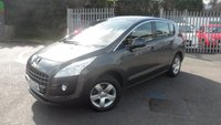 USED 2012 62 PEUGEOT 3008 1.6 SR HDI FAP 5d 112 BHP PEUGEOT CONNECT COLOUR SATELLITE NAVIGATION + BLUETOOTH