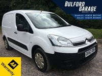 2012 CITROEN BERLINGO 1.6 850 ENTERPRISE L1 HDI 1d 89 BHP £5475.00