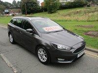 2015 FORD FOCUS 1.6 ZETEC TDCI 5d 114 BHP £8999.00