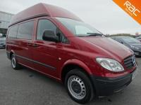 USED 2009 59 MERCEDES-BENZ VITO 2.1 111 CDI LONG SWB ELECTRIC WHEELCHAIR ACCESS