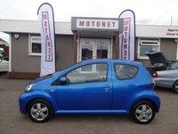 2011 TOYOTA AYGO 1.0 VVT-I BLUE 3DR 70 BHP+++£20 A YEAR ROAD TAX+++ £2980.00