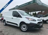 USED 2017 67 FORD TRANSIT CONNECT 1.5 240 P/V 1d 100 BHP Euro 6, Long Wheel Base, Only 4,000 Miles.