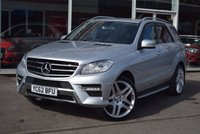 2012 MERCEDES-BENZ M CLASS 3.0 ML350 BLUETEC SPORT 5d 258 BHP £20990.00