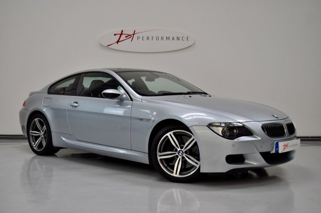 2006 55 BMW M6 5.0 M6 2d AUTO 501 BHP - M6 PRIVATE PLATE