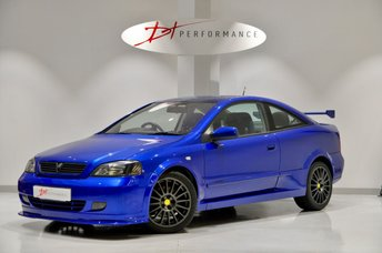 2002 VAUXHALL ASTRA 2.0 TURBO EDITION 16V 2d 190 BHP 888 COUPE EXTREMELY RARE £9950.00