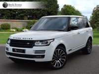 USED 2017 17 LAND ROVER RANGE ROVER 4.4 SDV8 VOGUE SE 5d AUTO 339 BHP VAT QUALIFYING  BLACK PACK