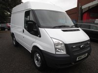 2012 FORD TRANSIT 330 2.2 SWB Medium roof 125 PS *REAR WHEEL DRIVE + A/C* £8995.00